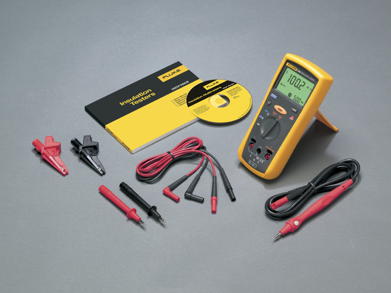 Fluke 1503 Insulation tester test voltages: 500 V, 1000 V