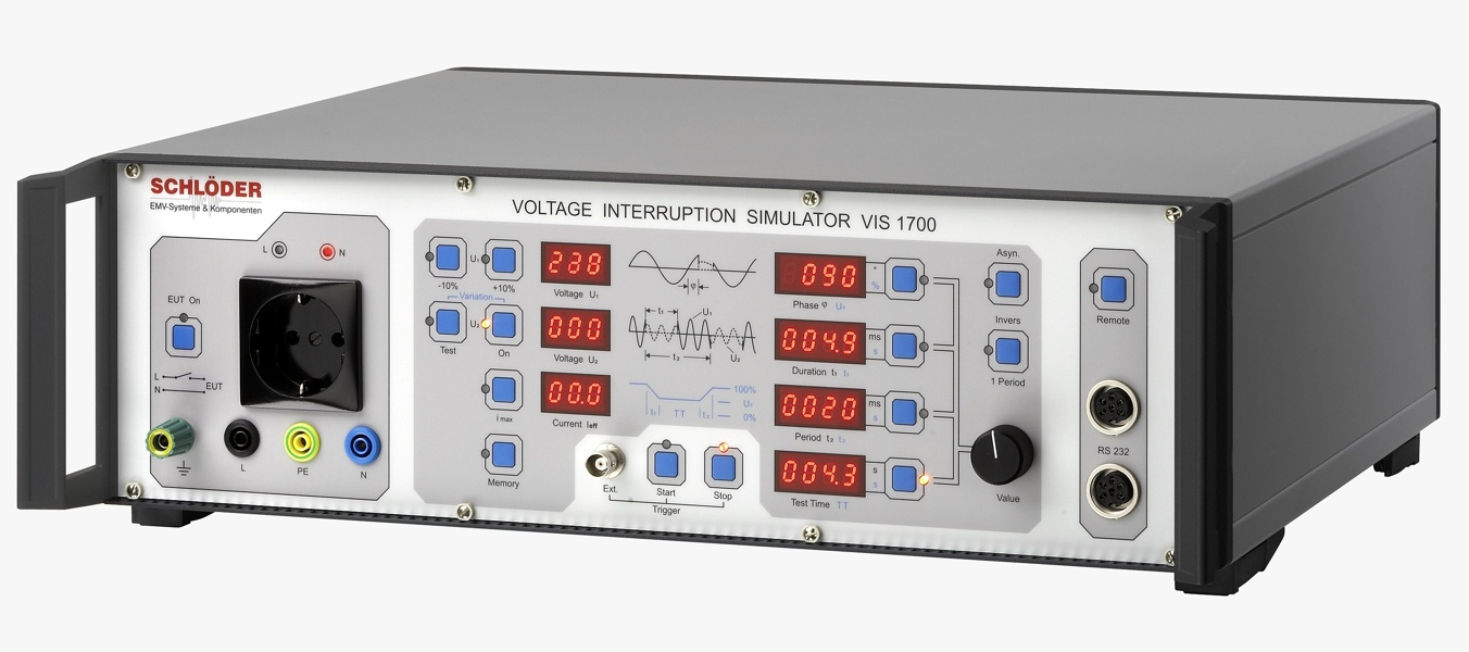 Schlöder VIS 1700 Voltage interruption simulator
