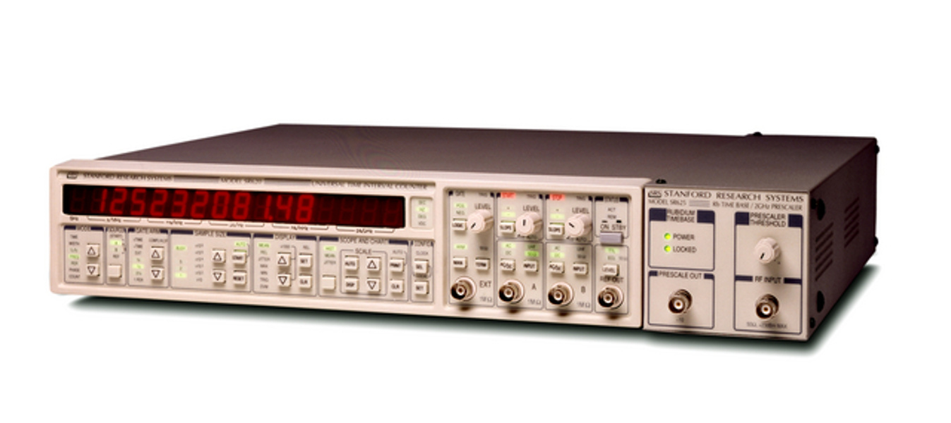 SRS SR625 — Frequency counter with Rb timebase