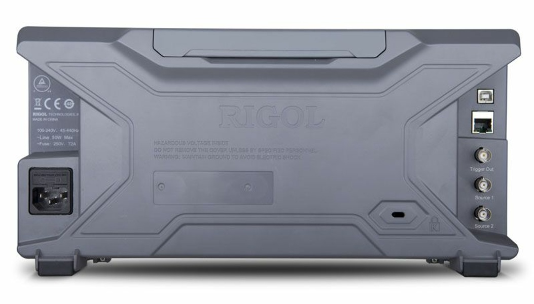 Rigol DS2102A-S Bandwidth 100MHz, 2CH,  2GSa/s, 14Mpts(standard), 56Mpts(option), 50,000 wfms/s. + 2-channel Signal Source
