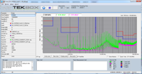 Tekbox EMCview PC-software for EMC pre-compliance testing of radiated and conducted emissions