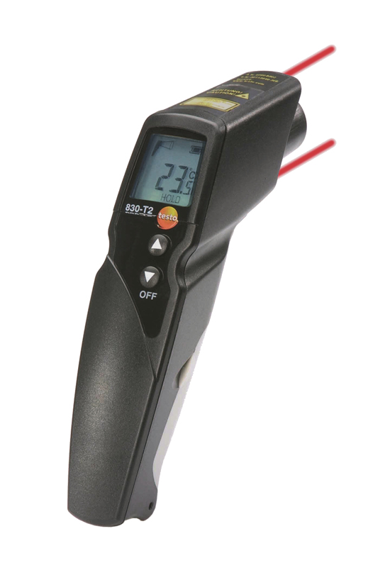 Testo 830 T2 Infrared thermometer with 2 point laser