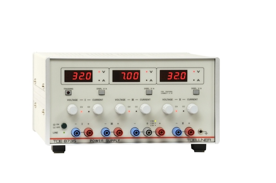 Toellner TOE 8730 Dual-output, triple-output and quintuple-output power supplies , up to 150W