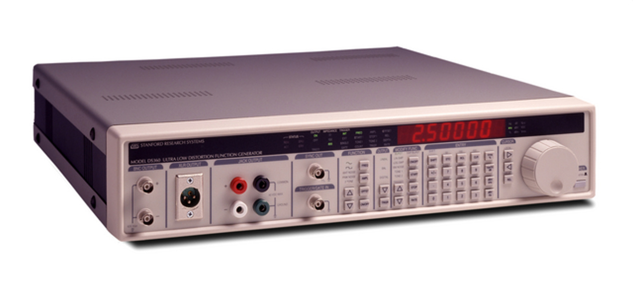 SRS DS360 — Ultra-low distortion output to 200 kHz