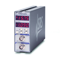 SRS SIM983 Analog scaling amplifier