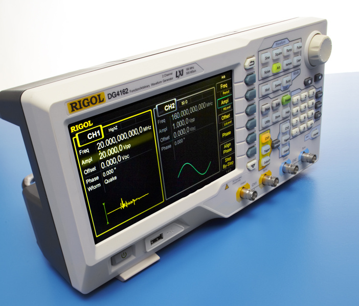 Rigol DG4162 dual-channel 160 MHz arbitrary function generator