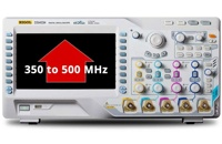 Rigol Bandwidth Upgrades thru Software License Key on Rigol MSO/DS4000 Series: 350MHz -> 500MHz