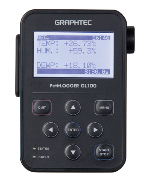 Graphtec GL100-WL Compact Modular Datalogger with wireless LAN