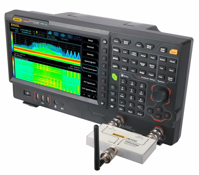 Rigol RSA5065-TG Real-Time Spectrum Analyzer 9 kHz to 3.2 GHz with Tracking Generator and built in VNA mode