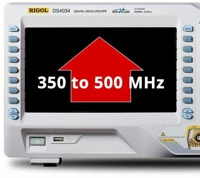 Rigol DS7000-BW3T5 Bandwidth Upgrade Option from 350 MHz to 500 MHz for models MSO/DS7000 series