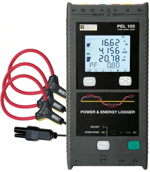 Chauvin Arnoux PEL 103 Power and Energy Logger