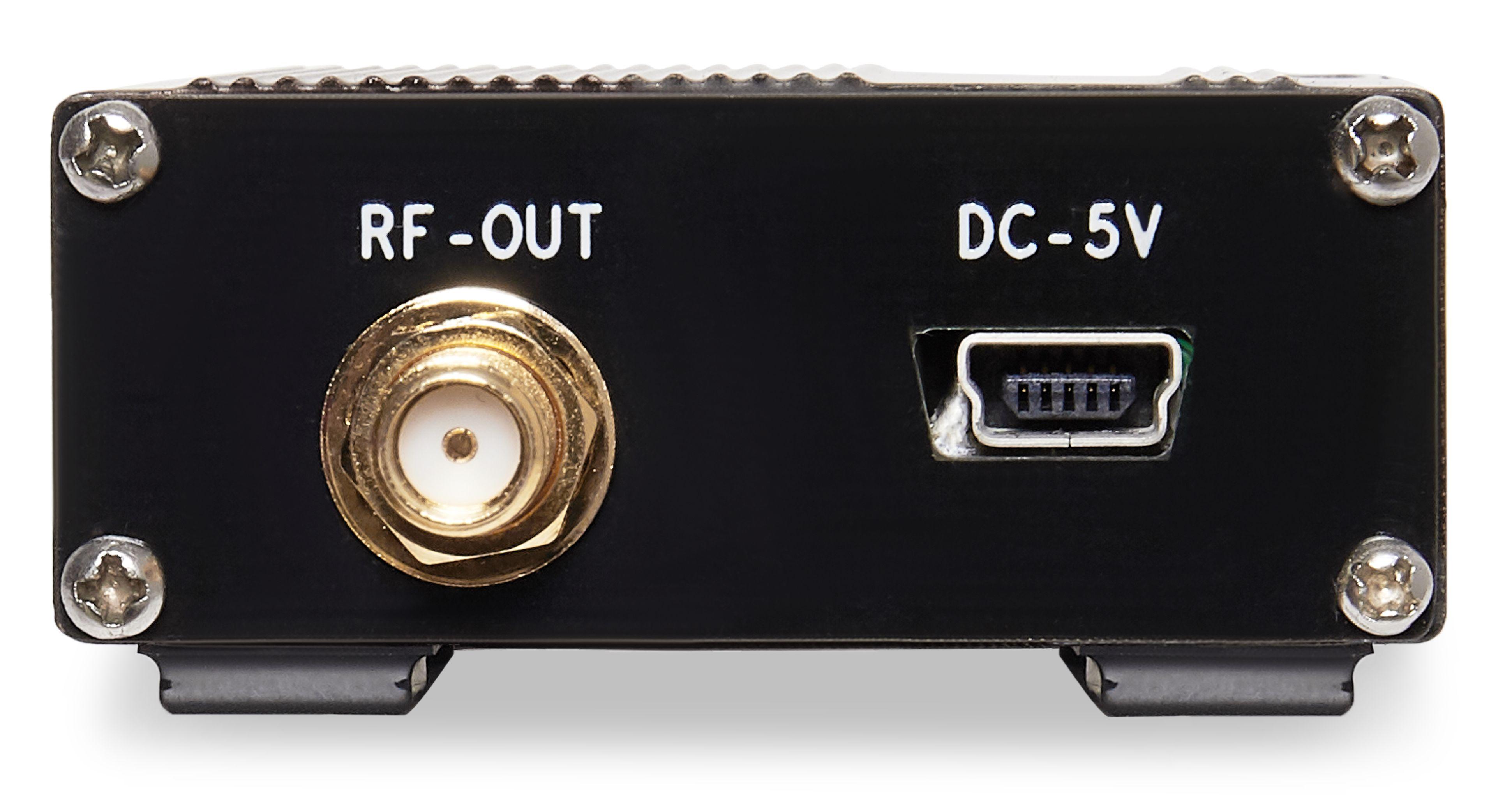 RF wideband power amplifier 1MHz-2GHz gain 40dB output 20dBm