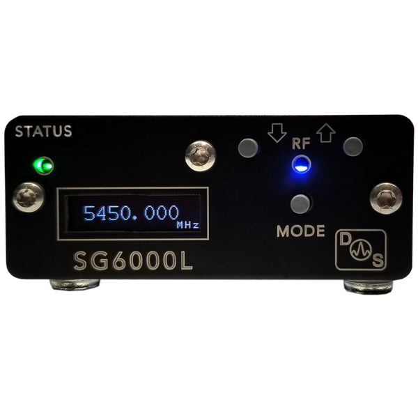 DS Instruments SG6000L signal generator 25-6000MHz with USB and display