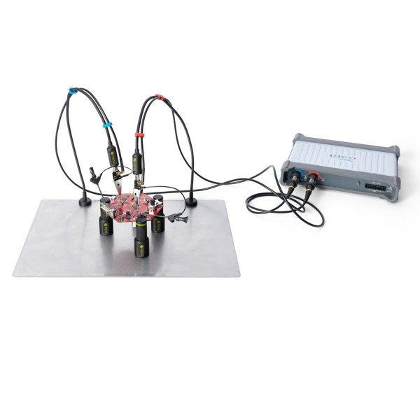 Sensepeek 4016 PCBite kit with 2x SP200 200 Mhz handsfree oscilloscope probes